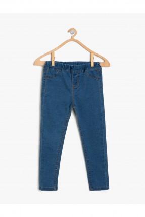 بنطال جينز اطفال بناتي شيك