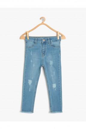 بنطال جينز اطفال بناتي ضيق