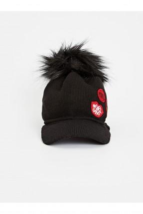 قبعة اطفال بناتي مزينة