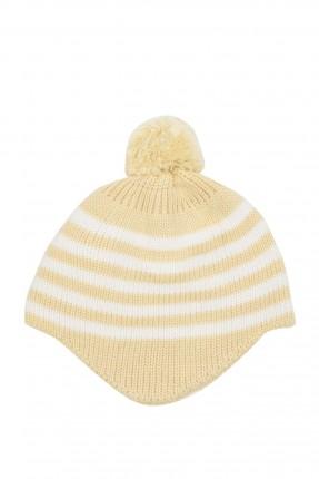 قبعة بيبي مخططة
