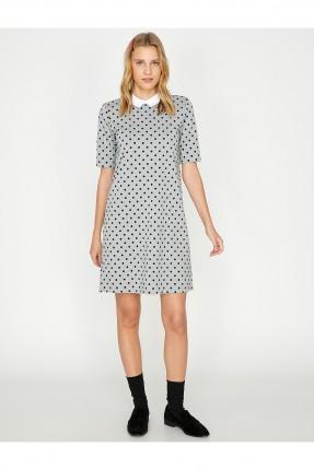 فستان سبور قصير منقط
