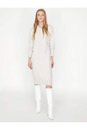 فستان سبور قصير مع كبيشون