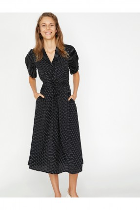 فستان سبور منقط