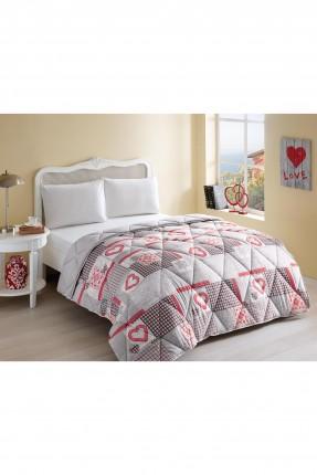 لحاف سرير مزدوج مع رسومات