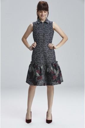 فستان سبور مع سحاب
