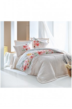 طقم غطاء سرير مفرد مورد