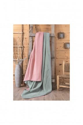 بطانية مزدوجة بلونين