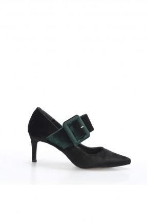 حذاء نسائي مع كعب و حزام