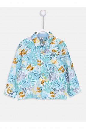 قميص بيبي ولادي مزخرف