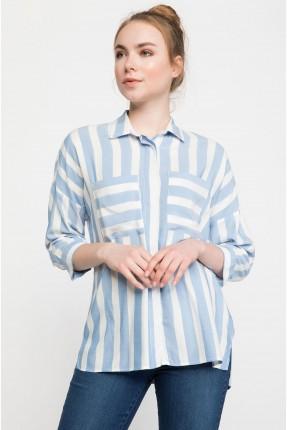 قميص نسائي مخطط