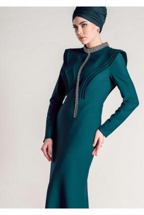 فستان رسمي شيك طويل من الخلف