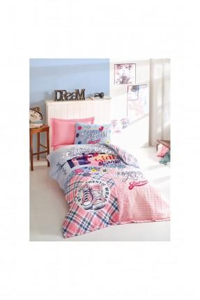 طقم لحاف سرير اطفال بناتي برسومات