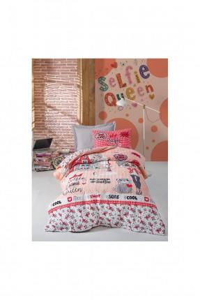 طقم غطاء سرير اطفال بناتي مع رسومات