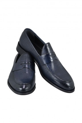 حذاء رجالي شيك مزين بحزام