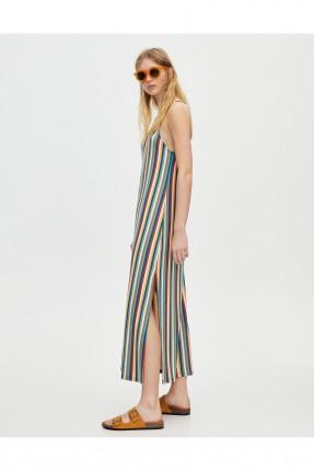 فستان سبور طويل ملون