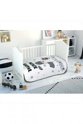 بطانية سرير بيبي ولادي مع شعار بيشكتاش