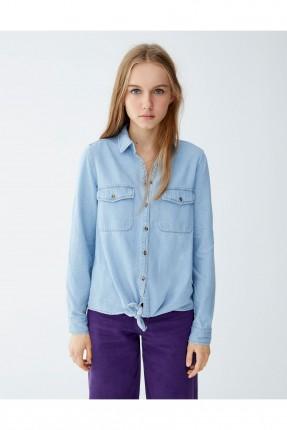 قميص نسائي جينز سبور