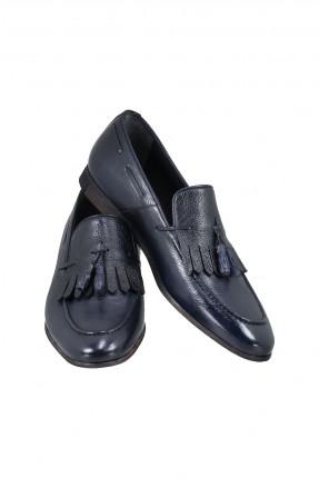 حذاء رجالي جلد بشراشيب