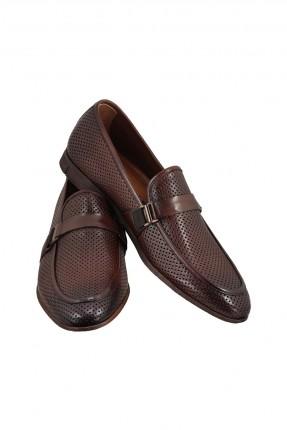 حذاء رجالي رسمي منقط بدون رباط