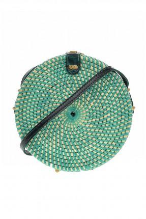 حقيبة يد نسائية شيك دائرية