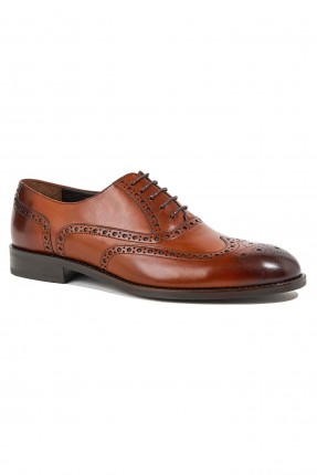 حذاء رجالي جلد مزين بزخرفة