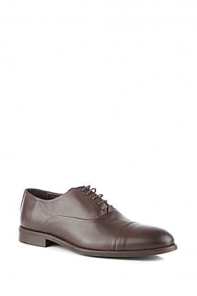حذاء رجالي جلد سادة