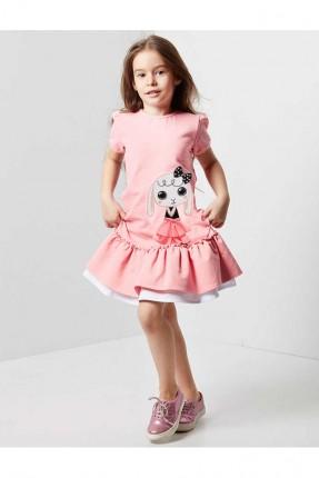 333be439516ce فستان اطفال بناتي مع كشكش