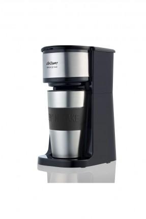 ماكينة قهوة كهربائية مع مصفاة