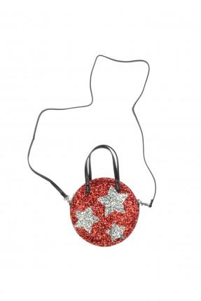 حقيبة يد اطفال بناتي بطبعة نجوم