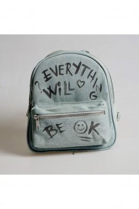 حقيبة ظهر اطفال بناتي مع كتابة