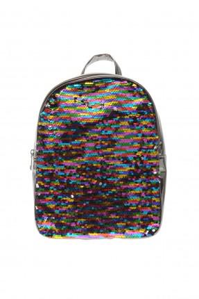 حقيبة ظهر اطفال بناتي بلمعة مع شك