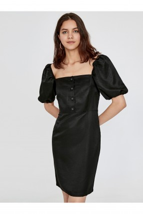 فستان رسمي باكمام نفخ
