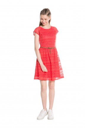 فستان سبور دانتيل نصف كم