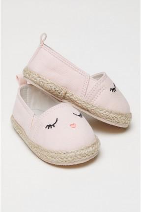 حذاء بيبي بناتي مع طبعة