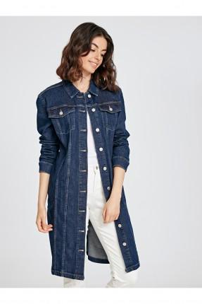 جاكيت سبور نسائي جينز طويل
