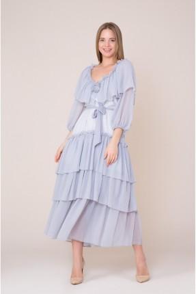 فستان رسمي مكشكش