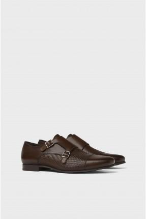 حذاء رجالي مع حزام