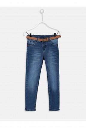 بنطال جينز اطفال ولادي مع كحتة