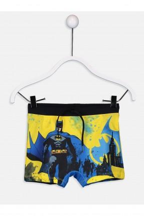 بوكسر سباحة اطفال ولادي مع طبعة باتمان