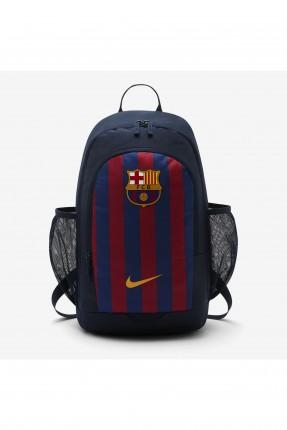 حقيبة ظهر رياضية رجالية بطبعة نادي برشلونة