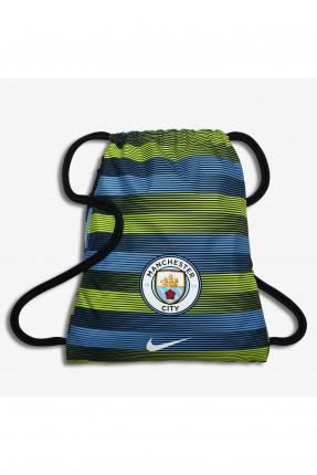 حقيبة ظهر رياضية رجالية بطبعة نادي مانشستر سيتي
