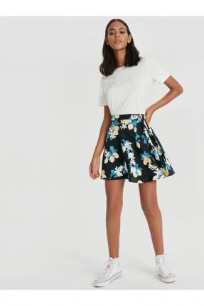 تنورة قصيرة موردة