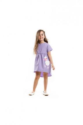فستان اطفال بناتي مزين برسومات