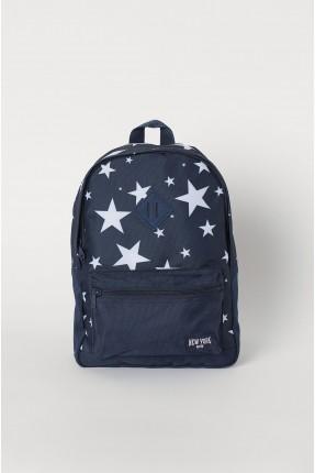 حقيبة ظهر مدرسية اطفال ولادي مزين بالنجوم