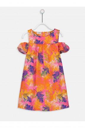فستان اطفال بناتي متساقط الاكمام
