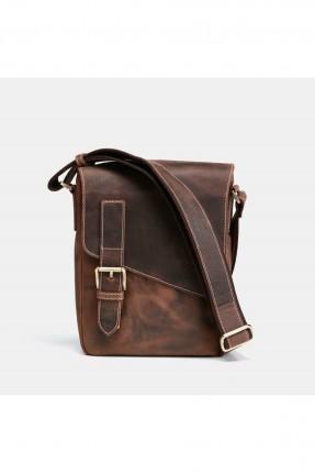 حقيبة يد رجالية جلد بحزام