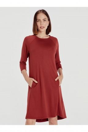 فستان سبور قصير بجيوب