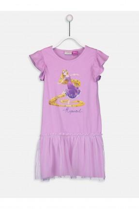 فستان اطفال بناتي مع طبعة باربي