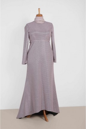 فستان رسمي طويل من الخلف