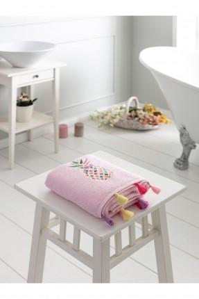 منشفة يد منقوشة برسمة اناناس